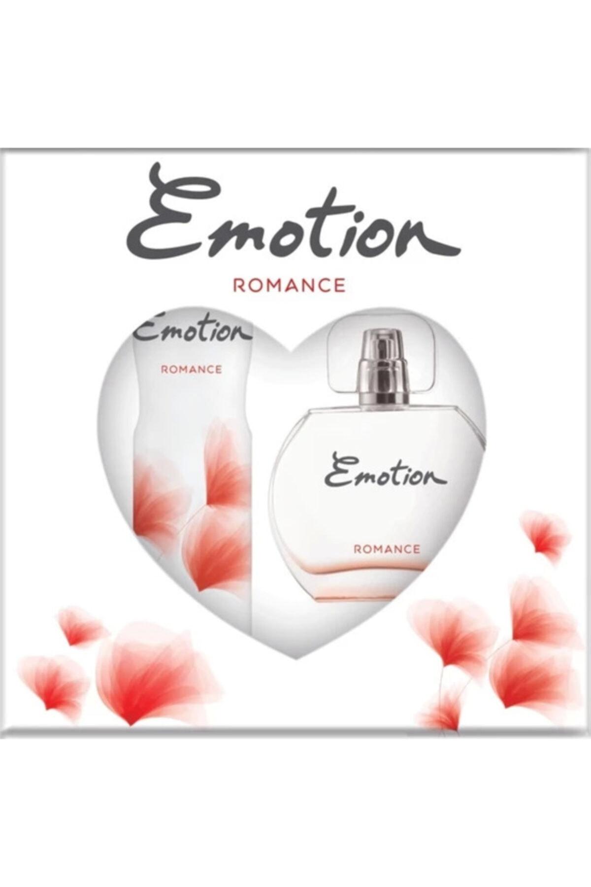 Emotion Romance Bayan Edt 50 Ml + 150 Ml Deodorant Parfüm Seti 2