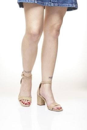 Delos Topuklu Hasır Ayakkabı