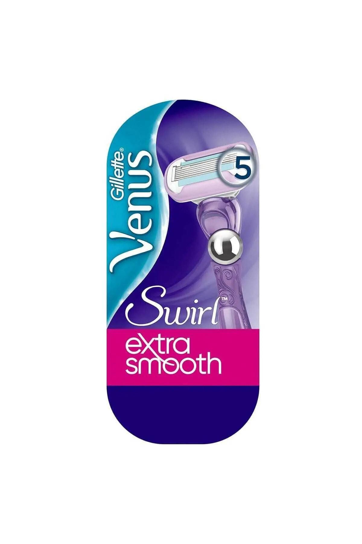 Gillette Venus Swirl Extra Smooth Kadın Tıraş Makinesi Yedekli 1