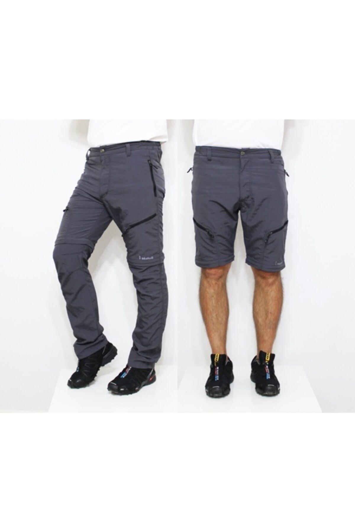 Mudwill Outdoor Modüler Trekking Pantolon-gri 1