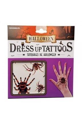 Pi İthalat Halloween Geçici Dövme Tarantula Model