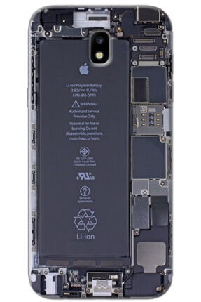 Turkiyecepaksesuar Samsung Galaxy J7 Pro Kılıf J730 Silikon Baskılı Desenli Arka Kapak