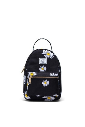 Herschel Supply Co. Herschel Nova Mini Daisy Black Sırt Çantası