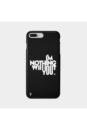 Roxo Case Iphone 7 Plus Baskılı Siyah Lansman Kılıf