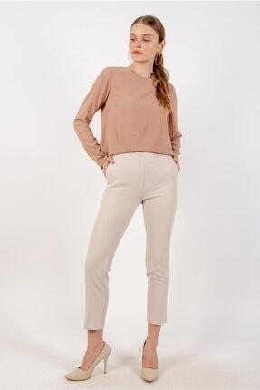 Loreen 28056 Kadın Beli Lastikli Cepli Pantolon 20y