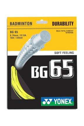 YONEX Sarı  Badminton Kordajı  Bg 65 10m