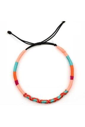Klotho Design Çok Renkli Örgü Çocuk Halhal