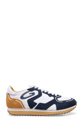 ALBERTO GUARDIANI Erkek Beyaz Lacivert Ayakkabı  S Agu101186