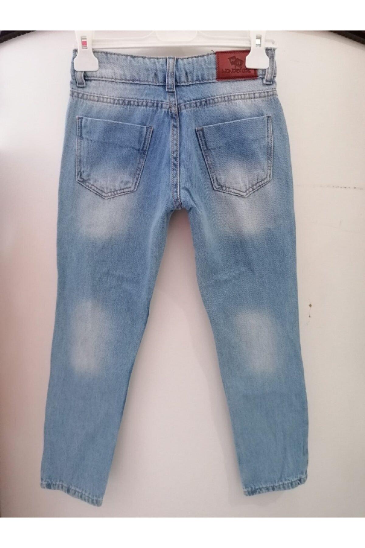 Wonder Kıds Kız Çocuk Kot Pantolon 2