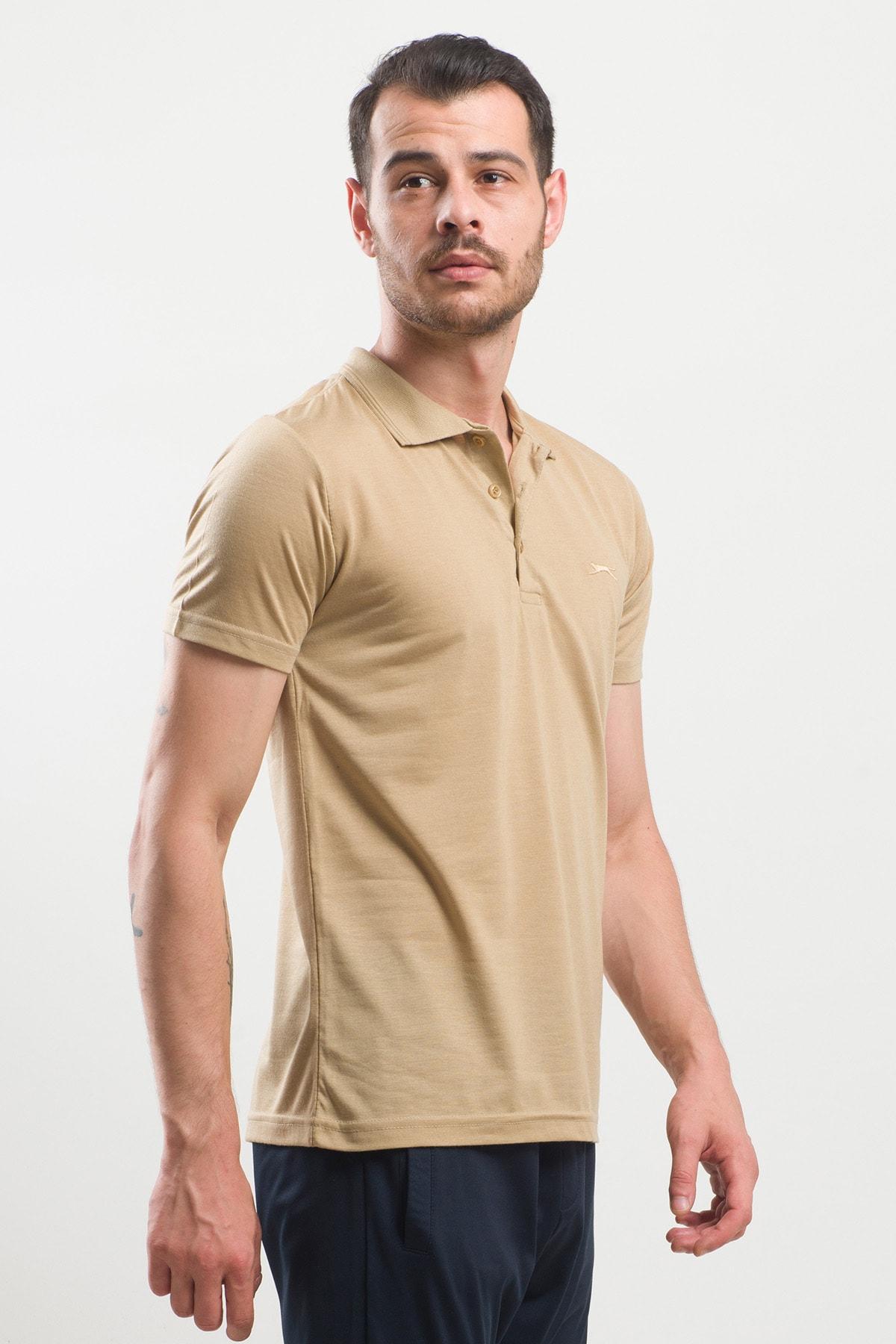 Slazenger Spırıt Erkek T-shirt Hardal 2