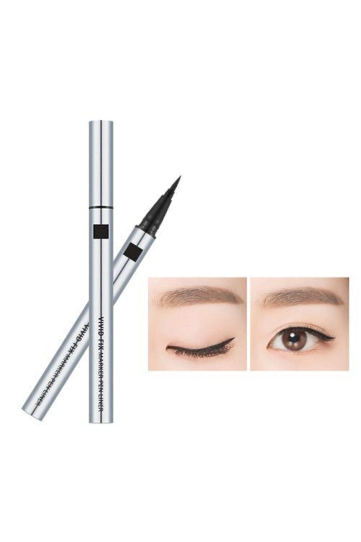 Missha Vivid Fix Marker Pen Liner (Deep Black) 1