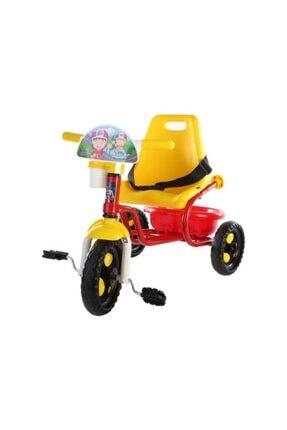 BabyHope Baby Hope Prens Üç Teker Bisiklet Kırmızı Sarı