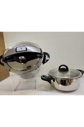 Essenso Steam Cook 3.5+7 Litre Düdüklü Tencere