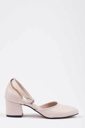 Oioi Bej Kadın Topuklu Ayakkabı 1006-119-0002_1023