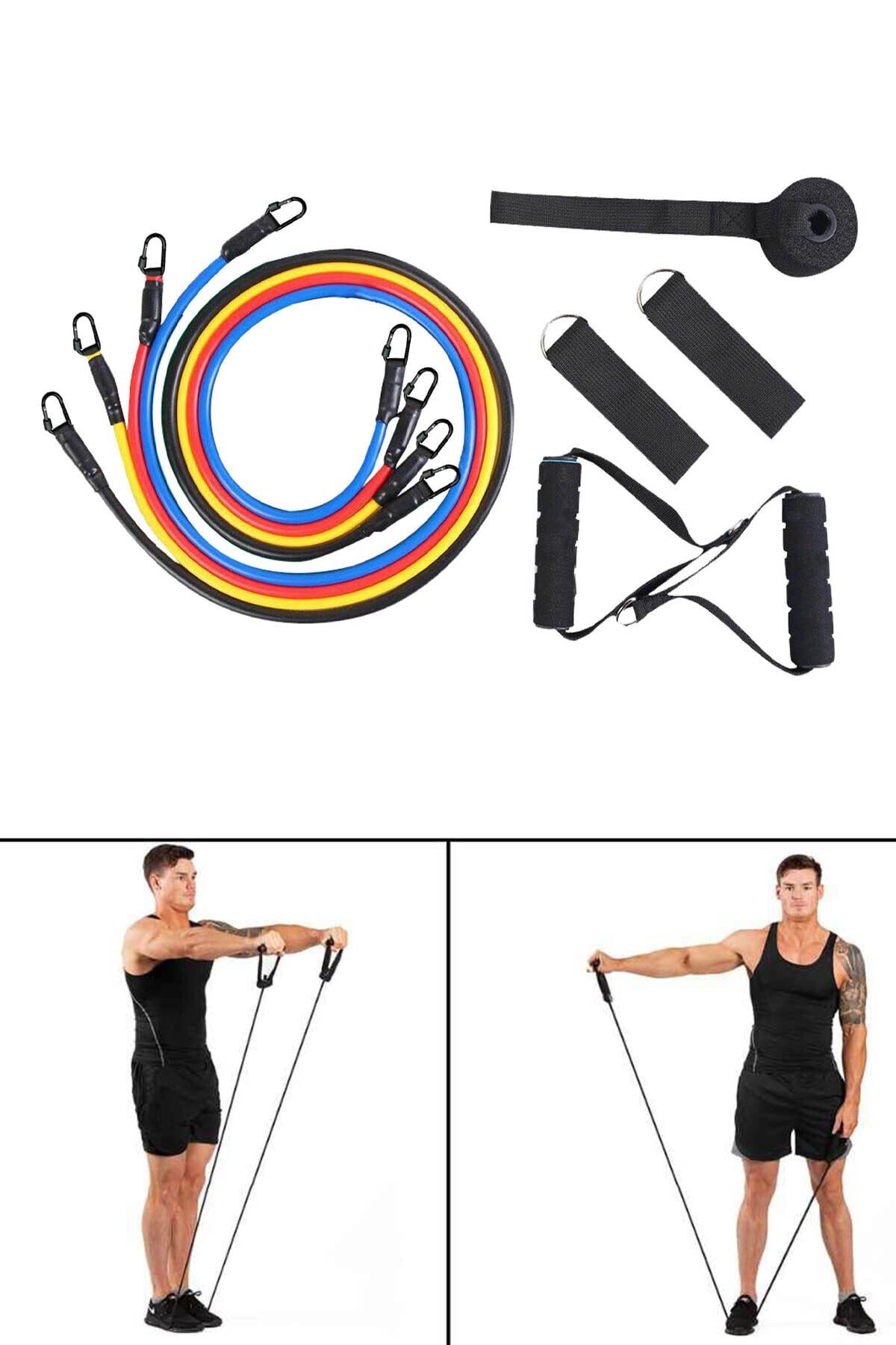 Dopagu Çok Fonksiyonlu Pilates Ve Fitness Direnç Lastiği 2