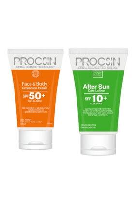 Procsin Procsın Güneş Kremi Face&body Spf 50+ 150 Ml + After Sun Losyon Set