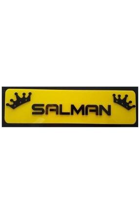 BoostZone Sarı Salman Dekor Sarı Plaka