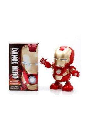 IRON MAN Pilli Işıklı Dans Eden Demir Adam Robot Oyuncak Figür Ka