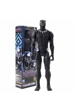 SHIVA Gift&More Avengers Infinity Savaş Titan Kahraman Serisi Marvel Siyah Panter Action Figure Pvc Koleksiyon Model
