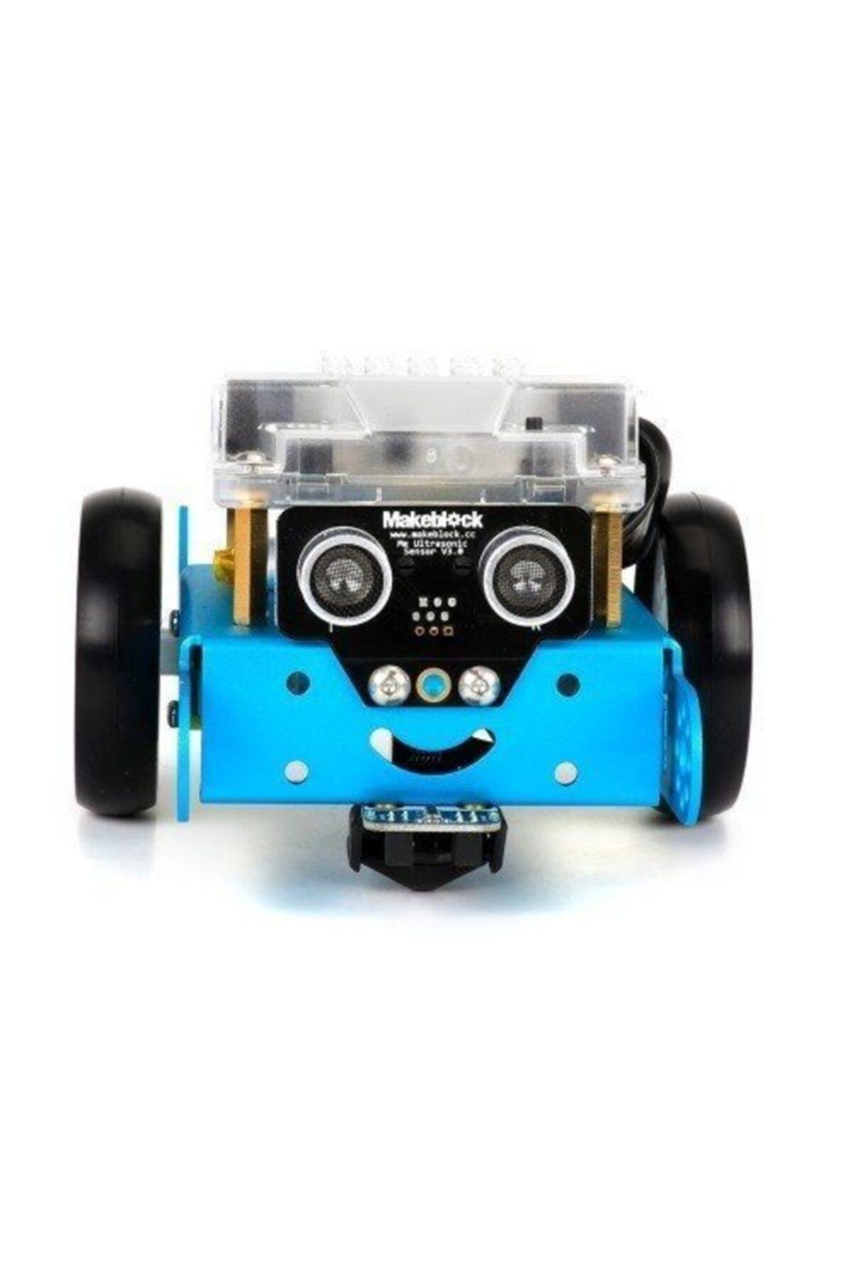 MakeBlock Mbot Bluetooth Stem Eğitim Robotu - V1.1 Mavi Kit 2