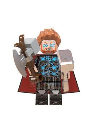 Legoedly Unisex Thor Avengers Marvel Süper Kahraman Lego Figür Oyuncak