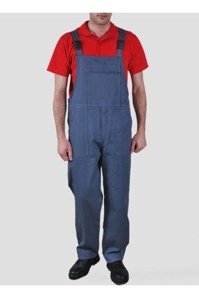 Endüstri Giyim Erkek Lacivert Iş Tulumu Askılı Bahçıvan Tulum Iş Elbisesi