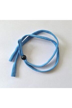 FREE Çocuk Mavi Esnek Yassı  Sporcu Gözlük Ipi