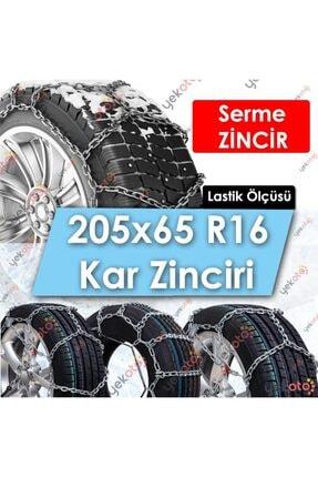 Yekoto 205x65 R16 Lastik Uyumlu Mahmuzlu Serme Kar Zinciri Çelik Halatlı