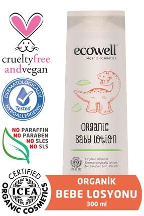 Ecowell Organik Bebe Losyonu - 300 Ml