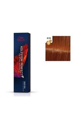 Wella Koleston Perfect Me+ Vibrant Reds 6/34 Koyu Sarışın Bakır 60ml
