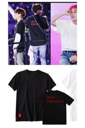 Köstebek K-pop Bts Love Yourself World Tour Unisex T-shirt