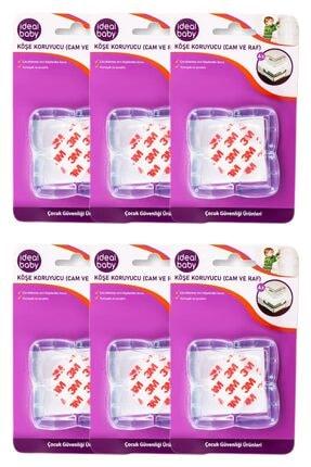 İdeal Baby 6 Paket Köşe Koruyucu (cam Ve Raf)