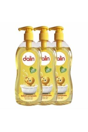 Dalin Şampuan Klasik %98 Organik Içerik 3 X 900 Ml