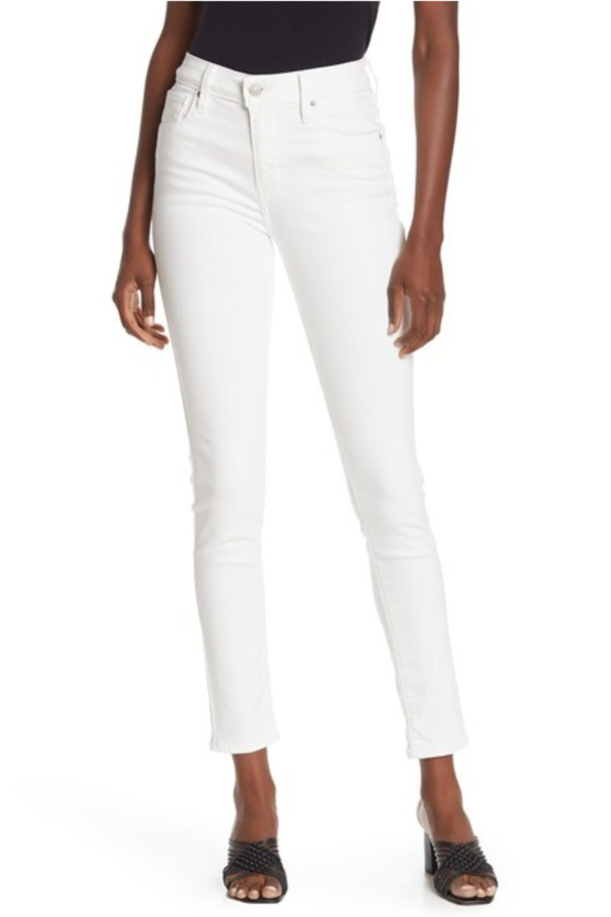 Levi's 721 High Rise Skinny Ankle Jeans 1