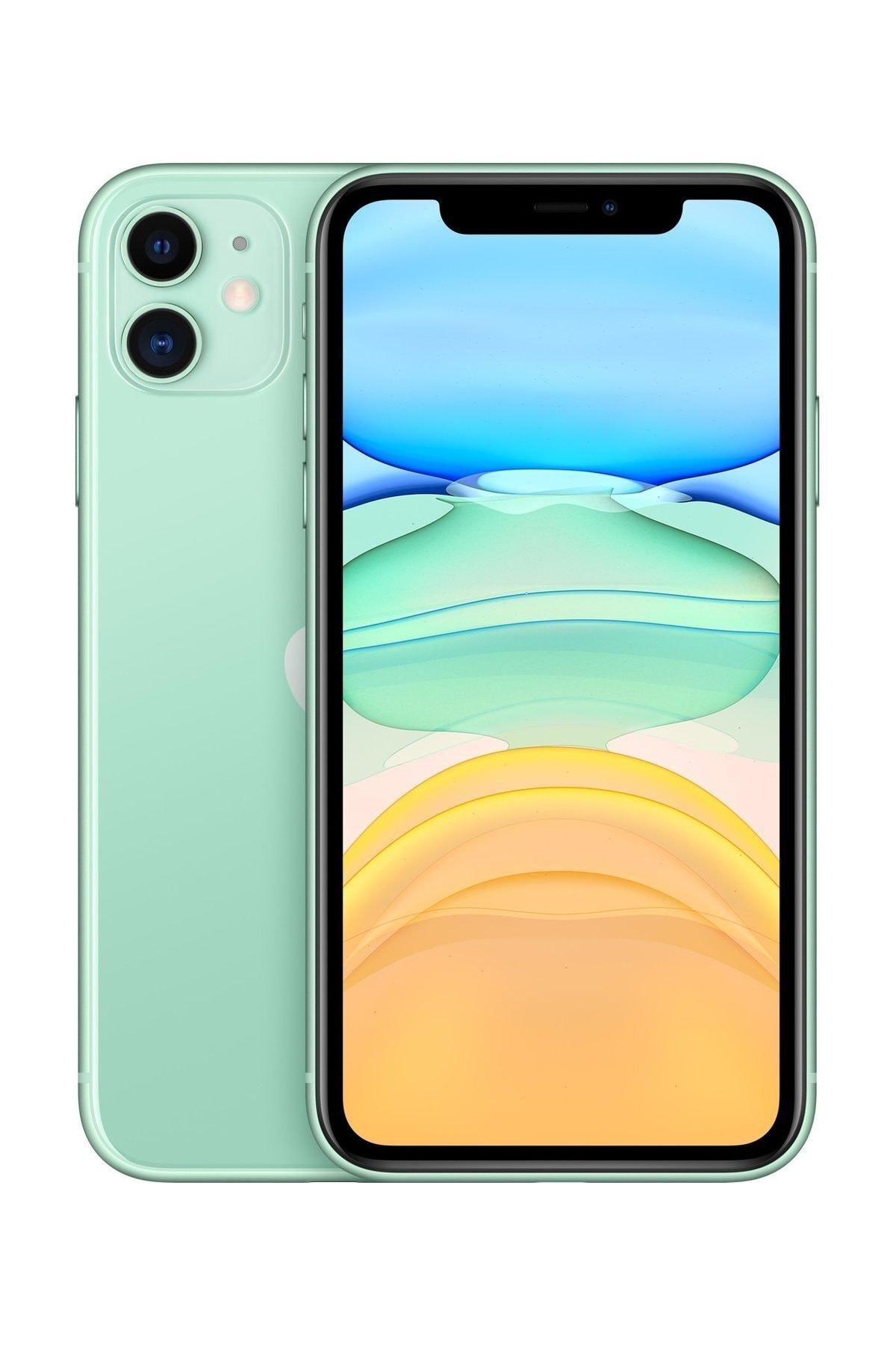Apple iPhone 11 64GB Yeşil Cep Telefonu (Apple Türkiye Garantili) Aksesuarlı Kutu 1