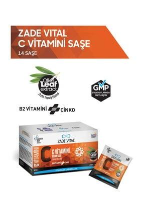 Zade Vital C Vitamini + B2 Vitamini + Çinko 14 Saşe - PORTAKAL