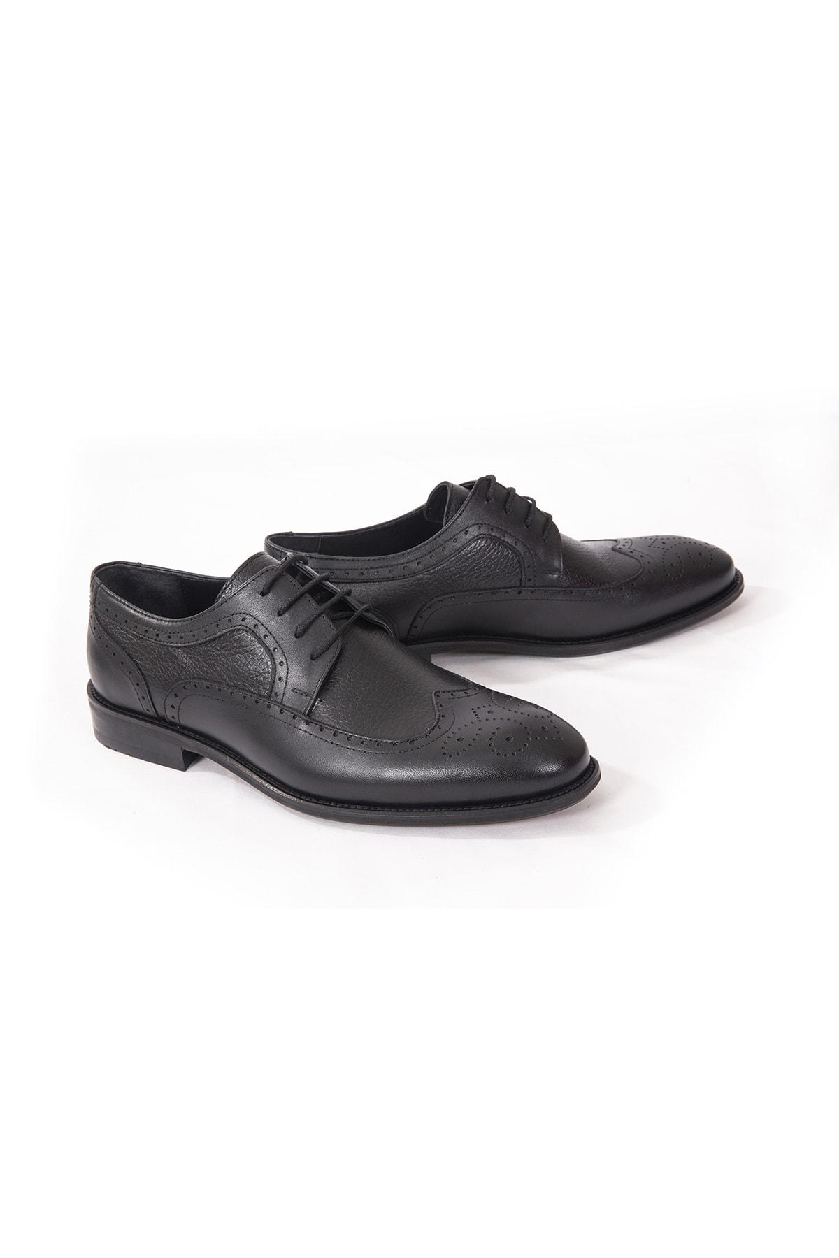İgs Deri Klasik Erkek Ayakkabı Siyah (i20s-191180-4 M 1000) 1