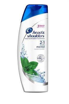Head&Shoulders 2'si 1 Arada Şampuan Mentol Ferahlığı 180 ml