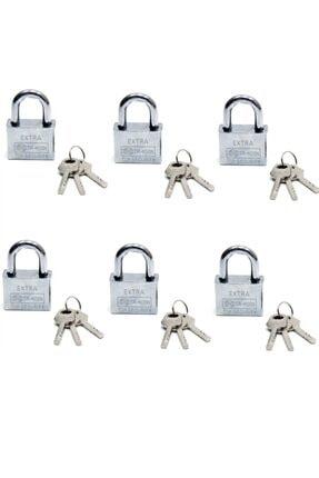 Marka Akıllı Anahtarlı Asma Kilit 6lı Set