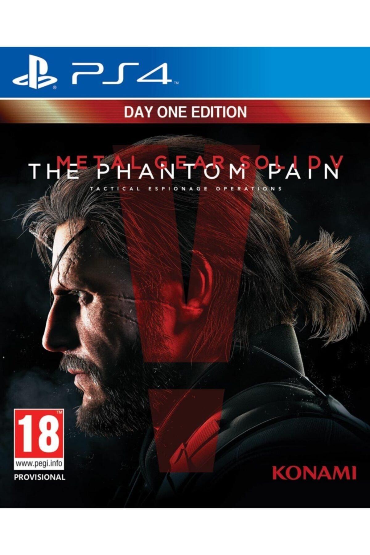 KONAMI Ps4 Metal Gear Solid 5 The Pantom Pain - Orjinal Oyun - Sıfır Jelatin 1
