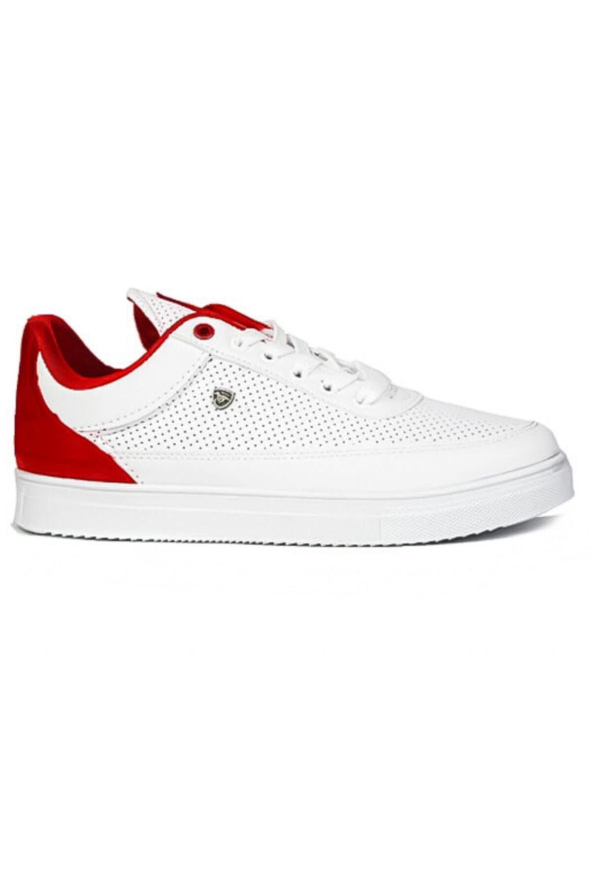 Hercule Shoes Filling Polo Kırmızı Erkek Spor Ayakkabı Günlük Sneaker Yeni Sezon 1