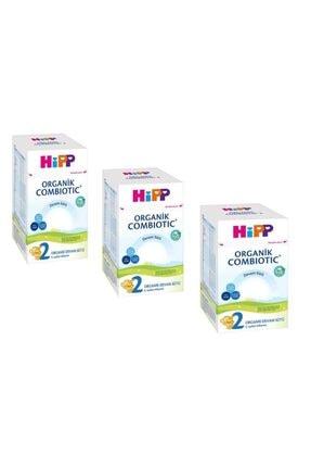 Hipp 2 Organik Combiotic Bebek Sütü 800 Gr 3 Lü