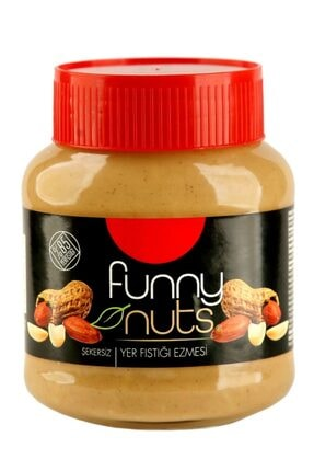 FunnyNuts Funny Nuts Yer Fıstık Ezmesi 320 Gr Cam Şişede Yer Fıstığı Ezmesi