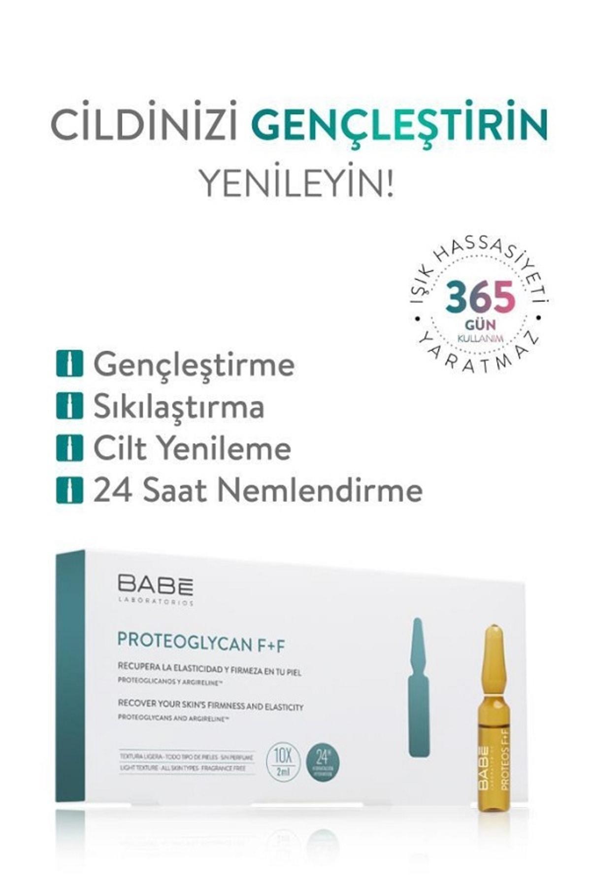 Babe Proteoglycan F+f Ampul Anti Aging Etkili Konsantre Bakım 10x2 ml 2
