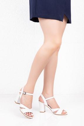 Gondol Hakiki Deri Topuklu Ayakkabı
