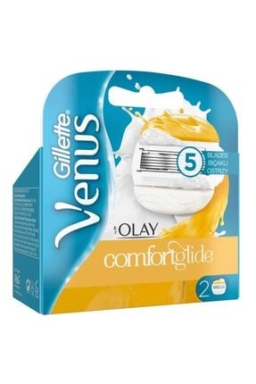Gillette Venus Venus Comfortglide Olay Yedek Kadın Tıraş Bıçaklağı 2'li