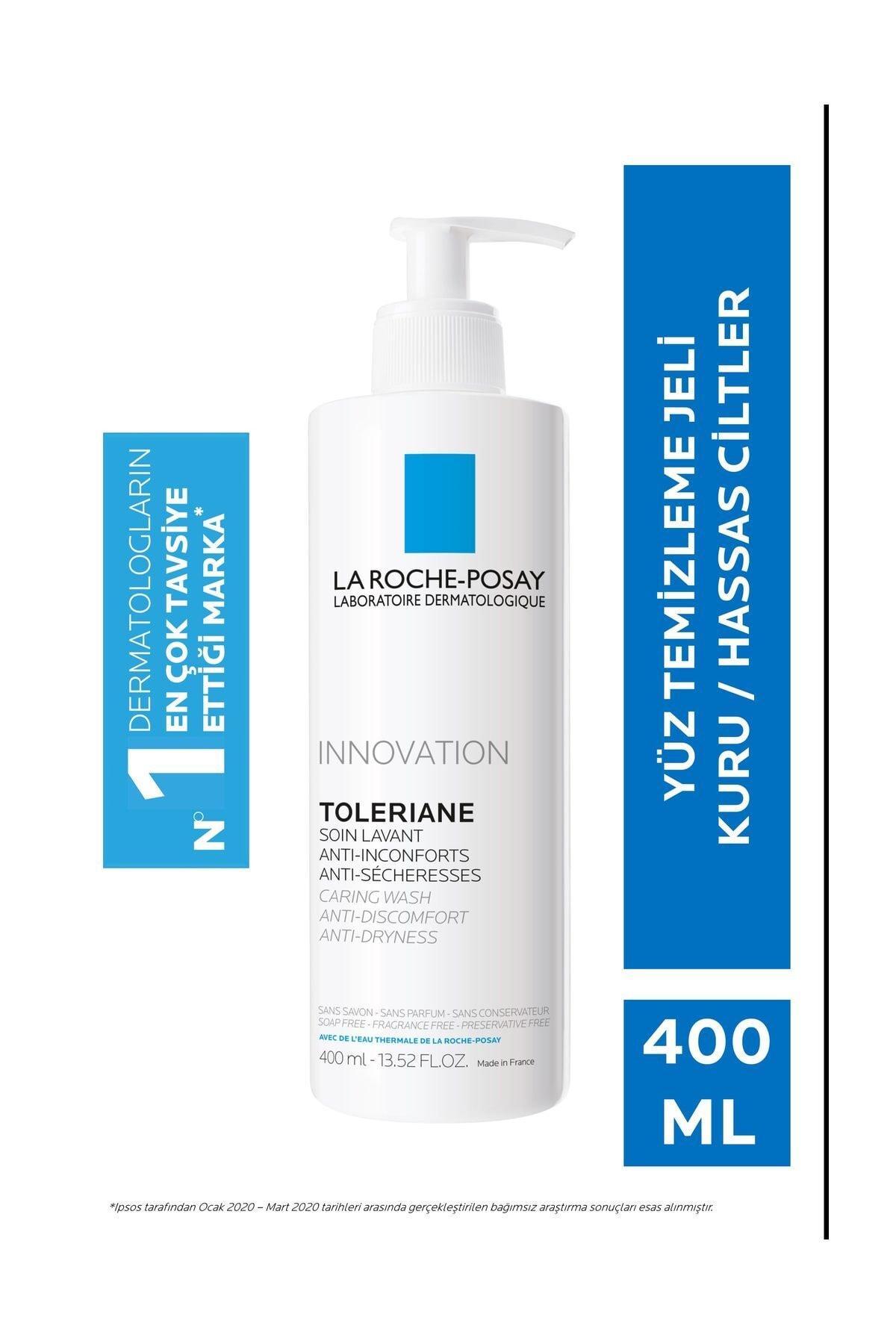 La Roche Posay Toleriane Caring Krem Temizleyici Kuru/Hassas Ciltler 400 ml 3337875545778 1