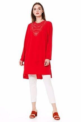 Nihan Kadın Kırmızı Tunik