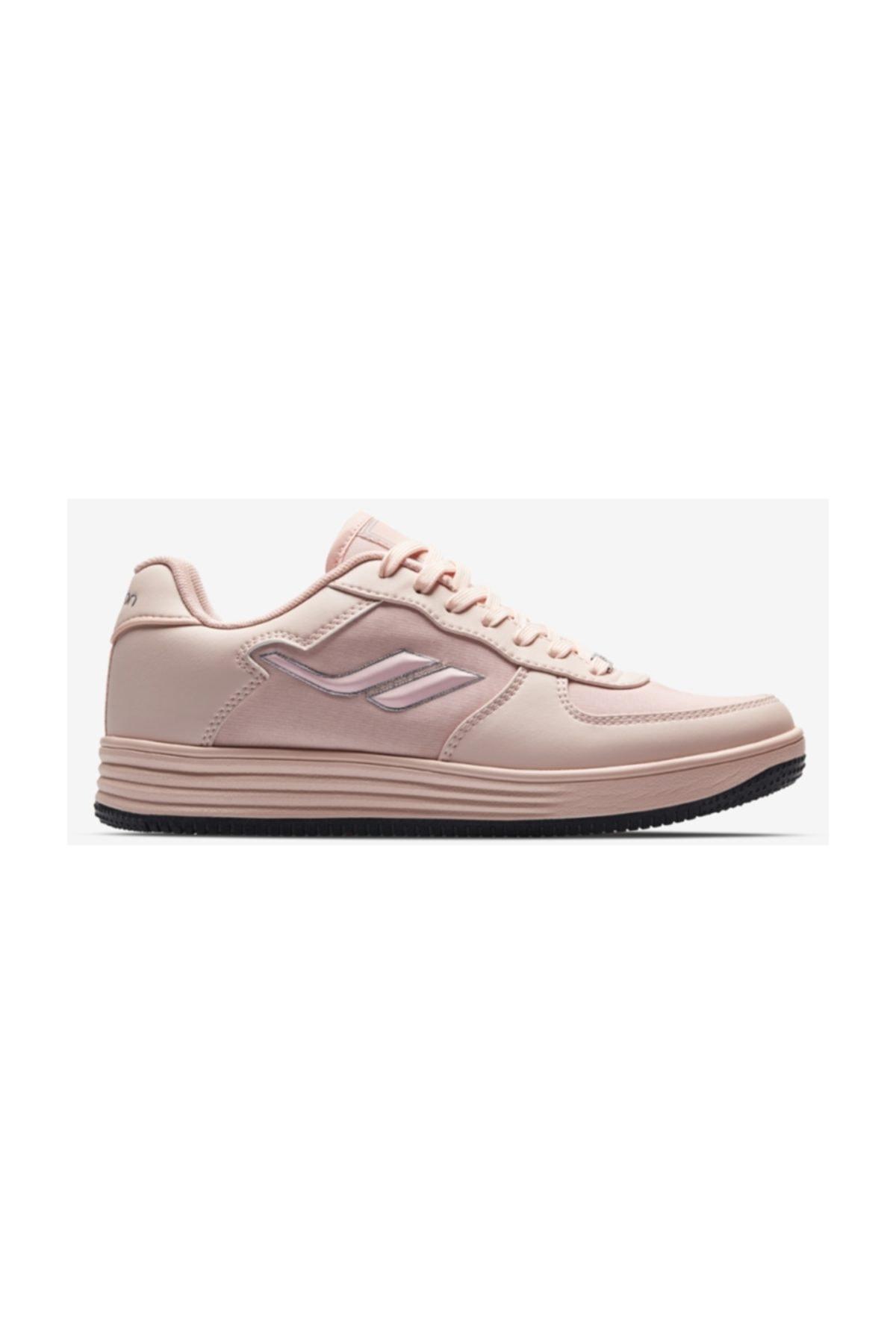 Lescon L-6616 Pudra Beyaz Bayan Sneaker Ayakkabı 1