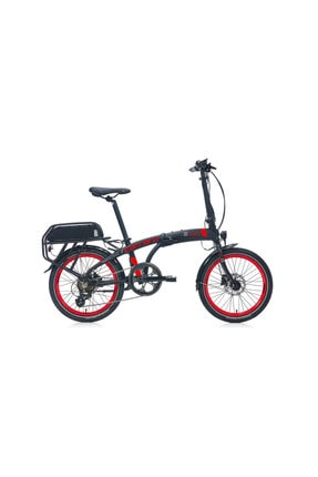Carraro Mat Sıyah Unısex Katlanır Elektrikli Bisiklet 285h 7-v Hd